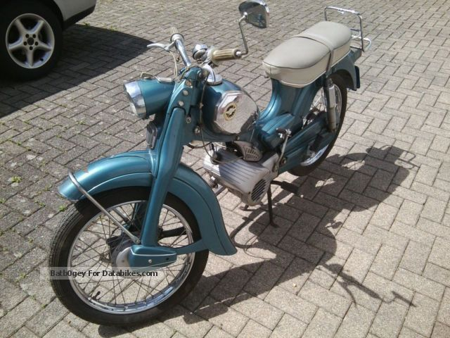 Zundapp  Zündapp moped C 50 Super 1968 Vintage, Classic and Old Bikes photo