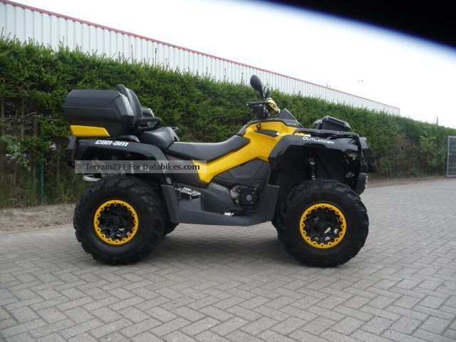 2014 Can Am  1000 Outlander Max XT-P Motorcycle Quad photo