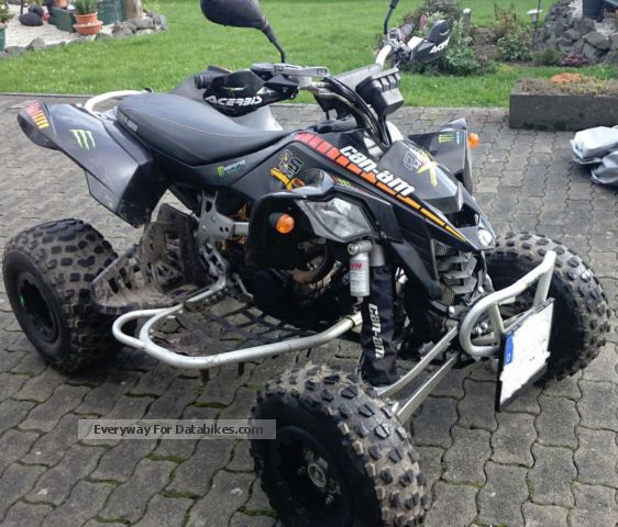2009 Bombardier  Can-Am DS 450 X Motorcycle Quad photo