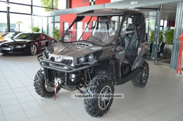 2013 Bombardier  Can Am Commander * Navi * rope * AHK * Side by Side * Motorcycle Quad photo
