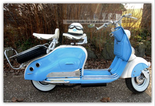 NSU  Lambretta 1952 Vintage, Classic and Old Bikes photo