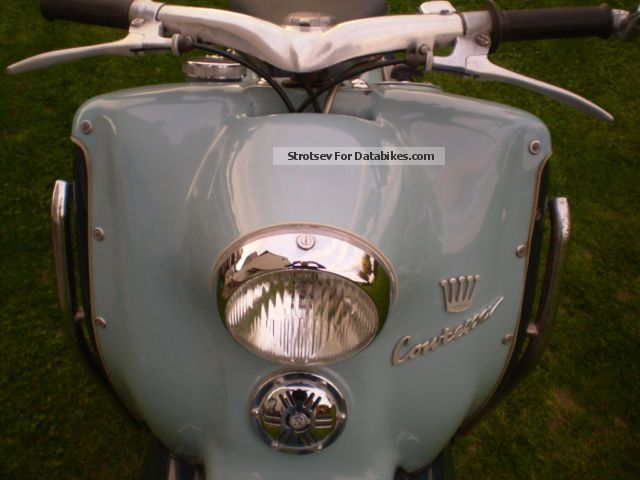 Triumph  Contessa as Heinkel Tourist 1955 Vintage, Classic and Old Bikes photo