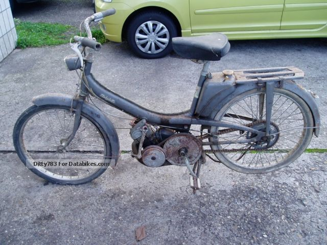 MBK  Motobecane Mobi Lette 1964 Vintage, Classic and Old Bikes photo