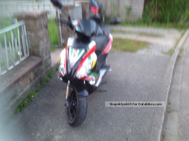 2014 Motobi  Pesaro 50SS Motorcycle Scooter photo