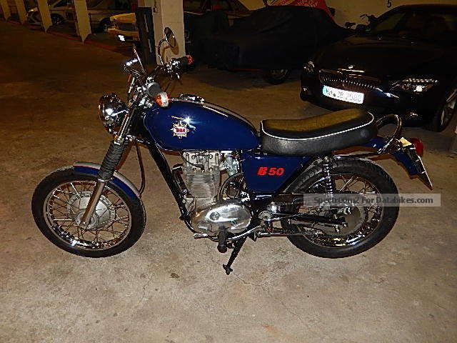 BSA  B 50 S Gold Star 1972 Vintage, Classic and Old Bikes photo