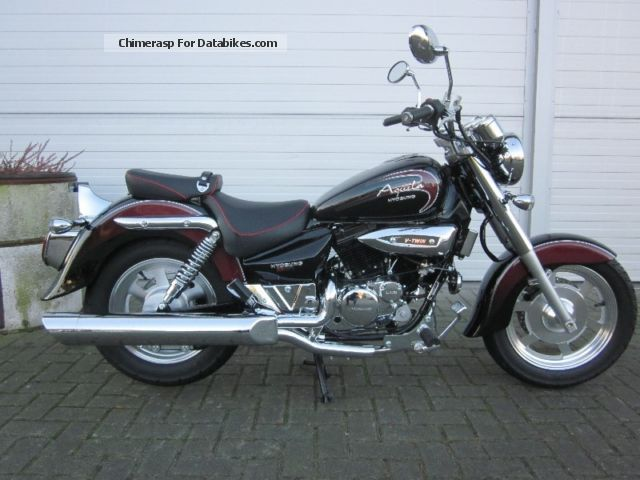 2012 Hyosung  Aqulia125 Mint Motorcycle Chopper/Cruiser photo
