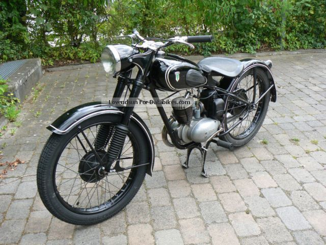 DKW  RT 125/2 1955 Vintage, Classic and Old Bikes photo