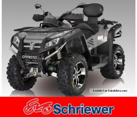 2012 CFMOTO  CFORCE 800 V2 4x4 LOF Motorcycle Quad photo
