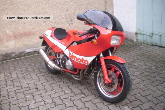 1982 Bimota  HB 2 Motorcycle Sports/Super Sports Bike photo