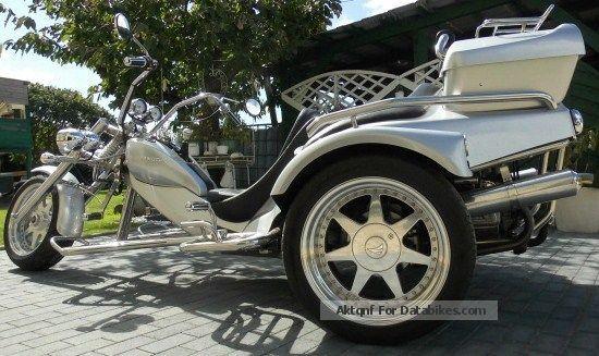 2007 Rewaco  FX 5 Family Trike silver metallic Motorcycle Trike photo