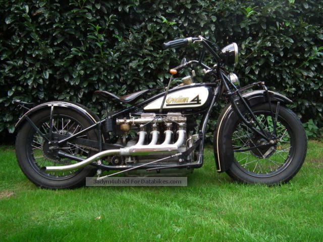 Indian  Four 1928 Vintage, Classic and Old Bikes photo