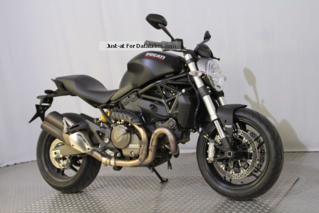 2014 Ducati  Monster 821 Dark Motorcycle Naked Bike photo