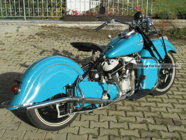 Indian  340 Chief 1940 Vintage, Classic and Old Bikes photo