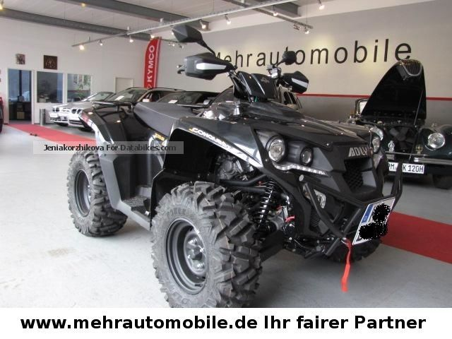 2012 Adly  Conquest 600 Lof 4x4 SE * from dealer Motorcycle Quad photo