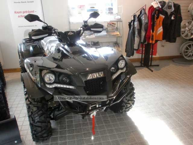 2012 Adly  ADLY Conquest 600 4x4 SE Q4M Winter Special Motorcycle Quad photo