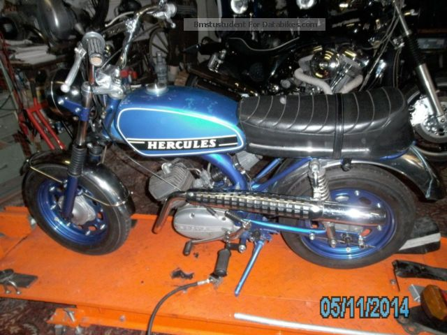 1976 Hercules  Sportbike SB 3 Motorcycle Motor-assisted Bicycle/Small Moped photo