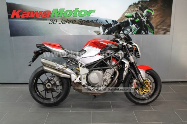 2011 MV Agusta  Bruale 1078RR by the authorized dealer Motorcycle Naked Bike photo