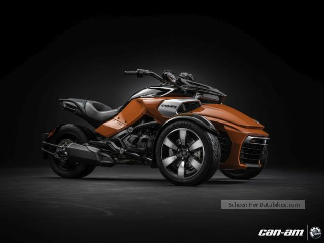 2012 Bombardier  BRP Can-Am Spyder F3 S-SE6 MY2015 Motorcycle Chopper/Cruiser photo