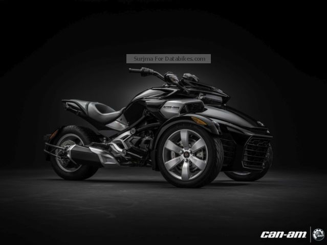 2012 Bombardier  BRP Can-Am Spyder F3 SM6 MY2015 Motorcycle Trike photo