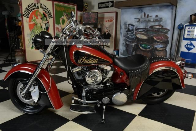 2002 Harley Davidson  Harley-Davidson indian chief Motorcycle Chopper/Cruiser photo