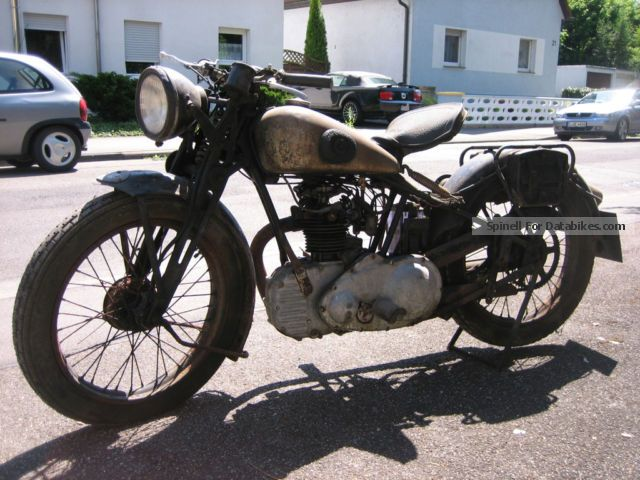 NSU  201 OSL 1935 Vintage, Classic and Old Bikes photo