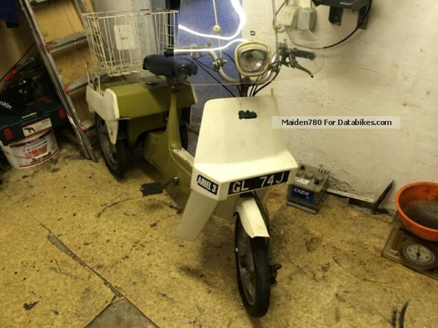 BSA  Ariel 3 Oldtimer 1971 Vintage, Classic and Old Bikes photo