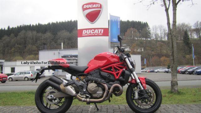 2014 Ducati  Monster 821, Presenter Model 2014 Werksgaranti Motorcycle Naked Bike photo