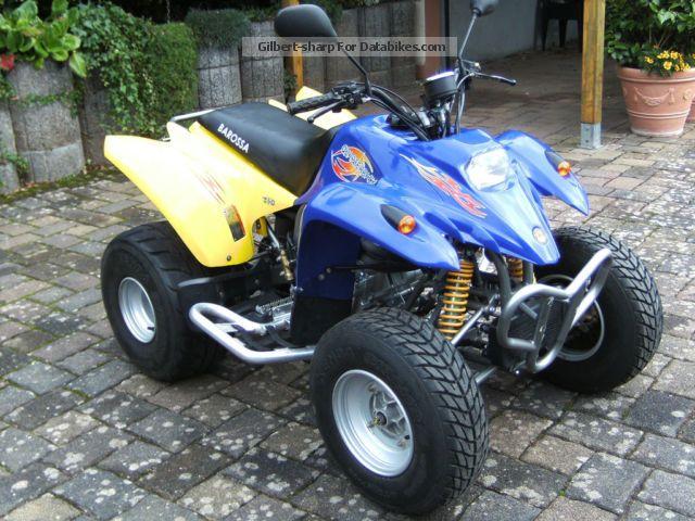 2010 Barossa  Quaterback 234ccm Motorcycle Quad photo