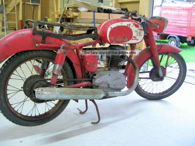 Moto Morini  175 1952 Vintage, Classic and Old Bikes photo