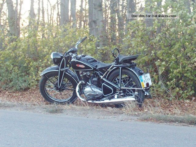 1950 DKW  NZ 350 Motorcycle Motorcycle photo