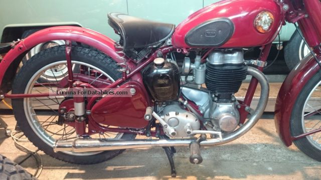 BSA  C11 G 1950 Vintage, Classic and Old Bikes photo