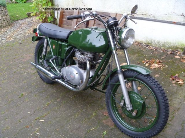 BSA  A65T Military Scrambler 1971 Vintage, Classic and Old Bikes photo