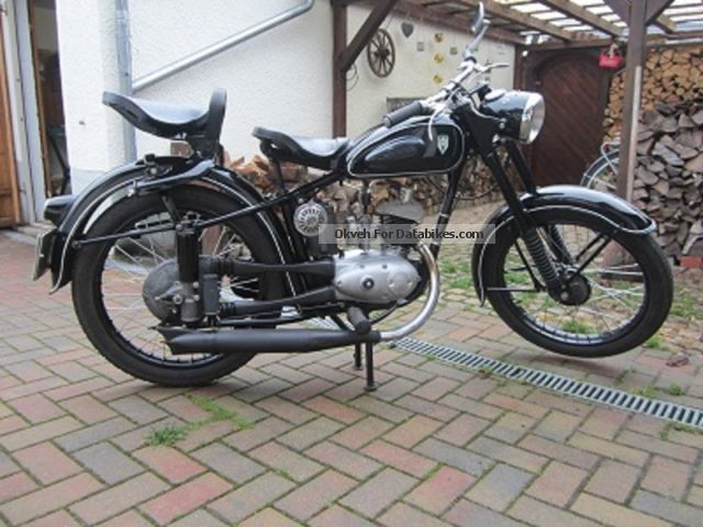 Mz  RT / 1 1955 Vintage, Classic and Old Bikes photo