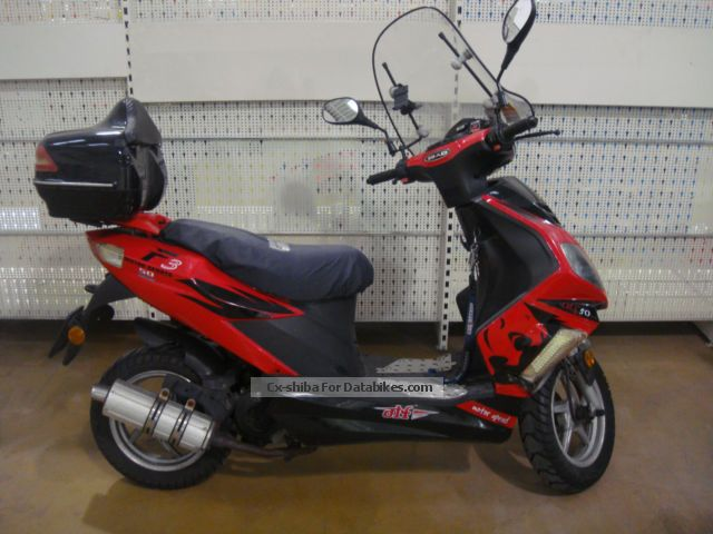 2009 Zhongyu  ATF 50 50cc 4-stroke 2.7 hp Scooter / Scooter Motorcycle Motor-assisted Bicycle/Small Moped photo