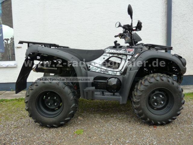 2014 TGB  Blade 500R 4x4 Motorcycle Quad photo