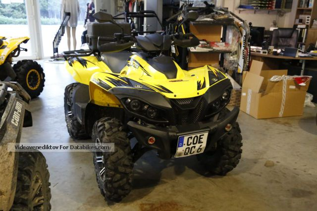 2014 GOES  725IS 4x4 Motorcycle Quad photo
