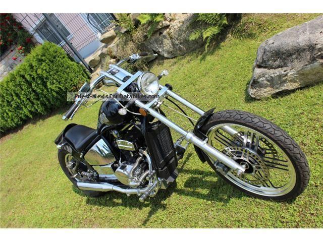 2011 WMI  Drag part Spyder 350 CDI & quot; Yuki & quot; Motorcycle Chopper/Cruiser photo