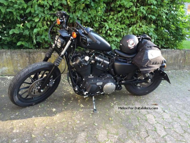 2012 Harley Davidson  Harley-Davidson XL883N Iron - Bobber Motorcycle Chopper/Cruiser photo
