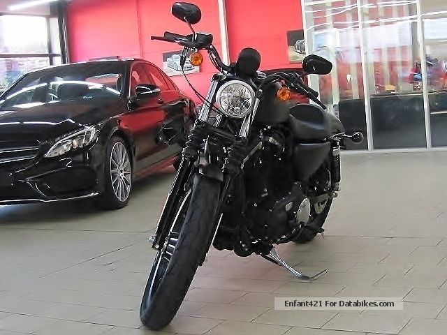 2012 Harley Davidson  Harley-Davidson Iron 883 SPORTSTER Black Denim * WITHOUT APPROVAL * Motorcycle Chopper/Cruiser photo