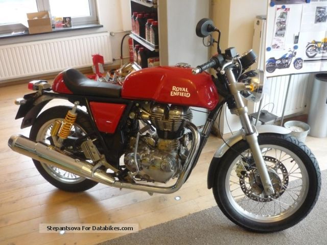 2012 Royal Enfield  GT 535 Cafe Racer Motorcycle Motorcycle photo