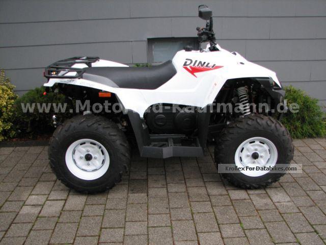2012 Dinli  EVO 565 4X4 LOF Motorcycle Quad photo