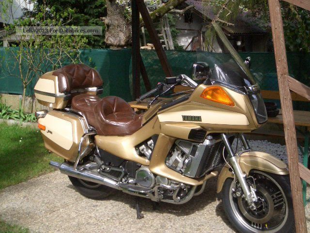 1985 WMI  Yamaha XVZ 1200 TD Motorcycle Chopper/Cruiser photo