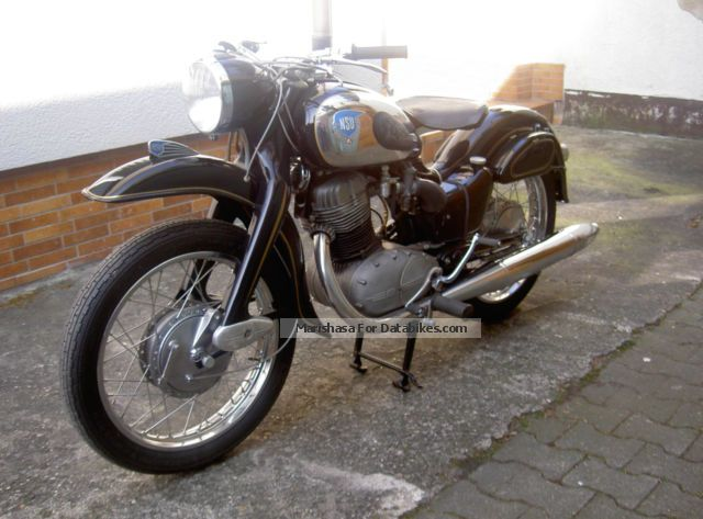 NSU  Max Special 1957 Vintage, Classic and Old Bikes photo