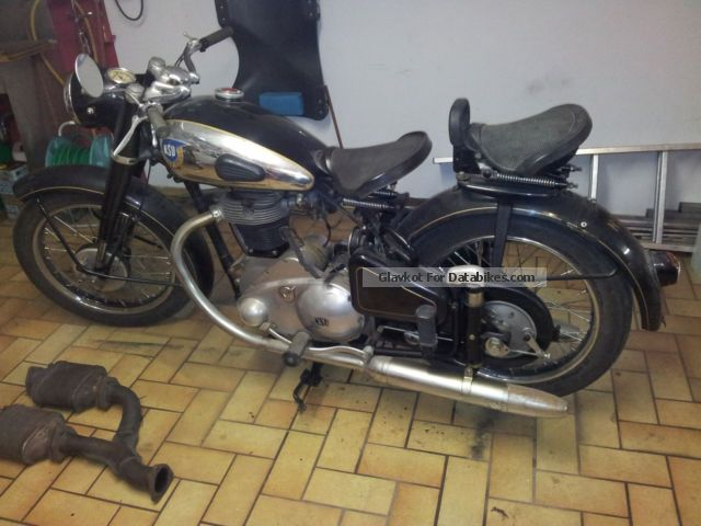 NSU  501 OS-T 1953 Vintage, Classic and Old Bikes photo