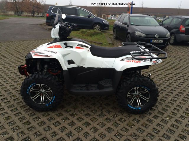 2012 Aeon  Access AMX 750 LV Motorcycle Quad photo