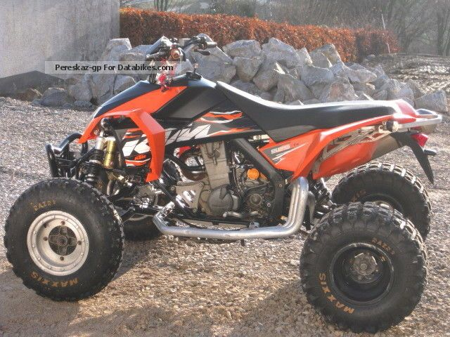 2010 KTM  XC 525 Quad / ATV, TÜV neu 11.2016, Akrapovic Motorcycle Quad photo