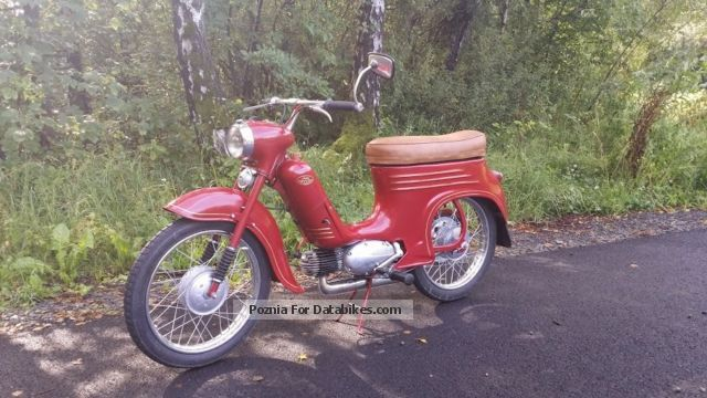 Jawa  555 1960 Vintage, Classic and Old Bikes photo