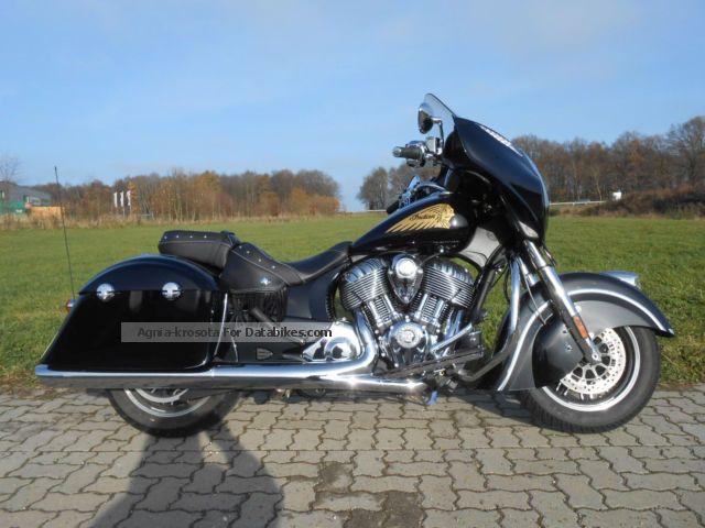 2014 Indian  Chieftain little Km Cologne-Bonn Motorcycle Chopper/Cruiser photo