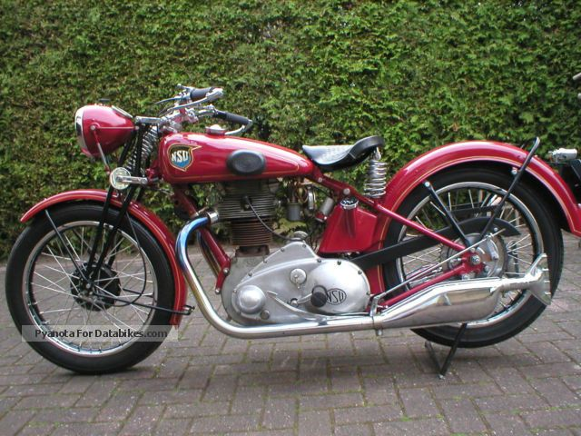 NSU  501 1934 Vintage, Classic and Old Bikes photo