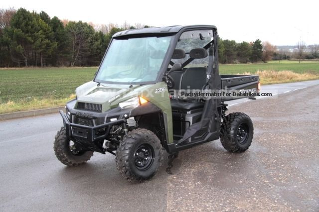 2014 Polaris  Ranger 900 XP with LOF + disk + roof - TOP! Motorcycle Quad photo